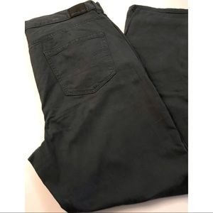 American Eagle Dark Green Next Level Stretch Jeans